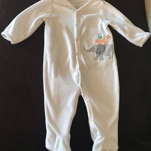 Carters 3 month cotton button up sleeper